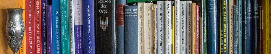 Bücher über Orgeln – books about organs